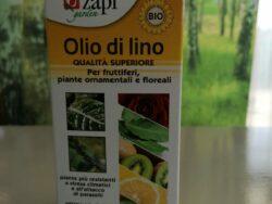 Olio di lino per fruttiferi e piante