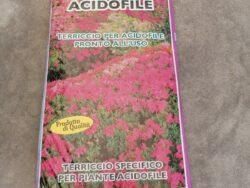 Terriccio per acidofile pronto per l'uso 50L