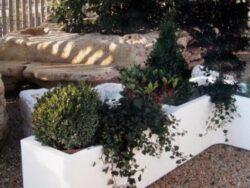 Angolare liscio Fenice 100 x 100 x 45, colori anticato, antracite e bianco